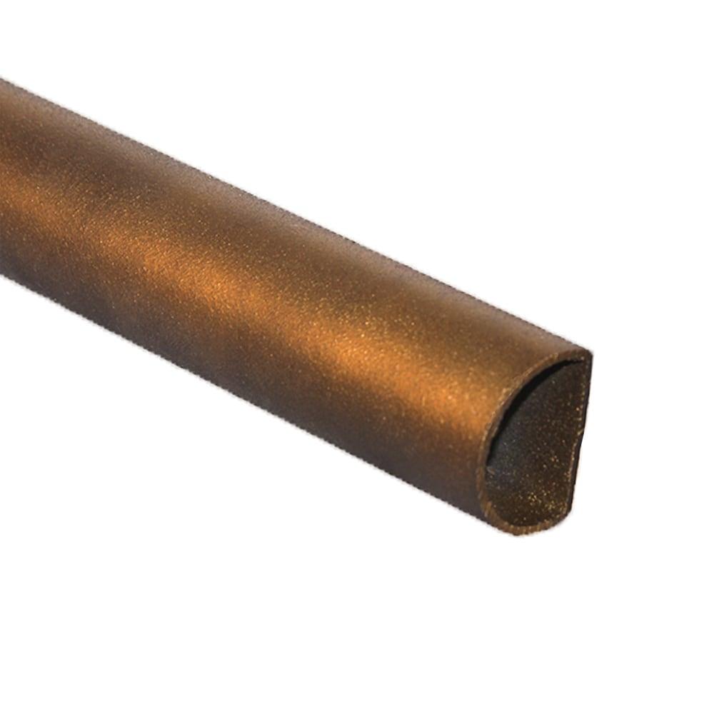 Flaxen Gold Metal Rod Finish