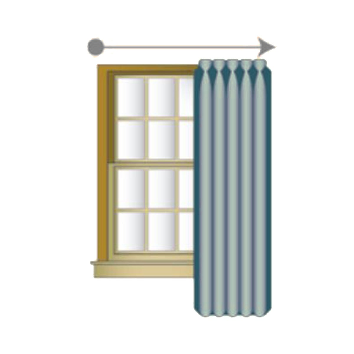 Right Curtain Draw