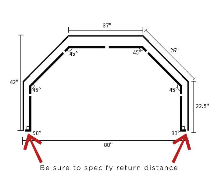 French Rod Bay Window Diagram
