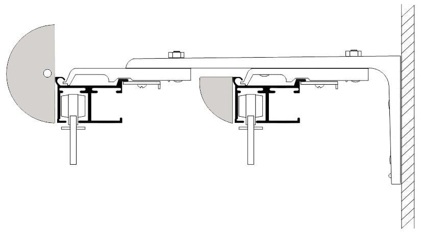 Wall Mount Bracket Diagram