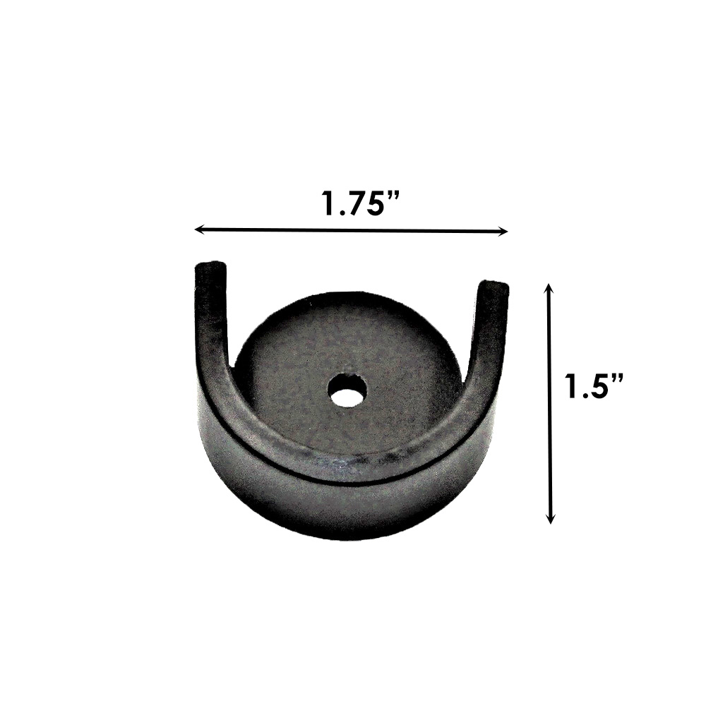Sizing for French Rod Inside Wall Mount Bracket