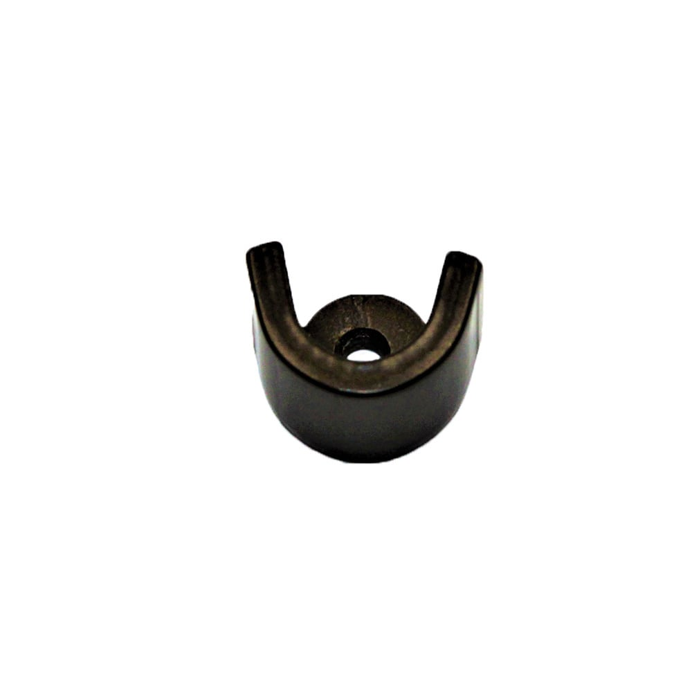 French Rod Inside Bracket Brushed Nickel - Dark Bronze