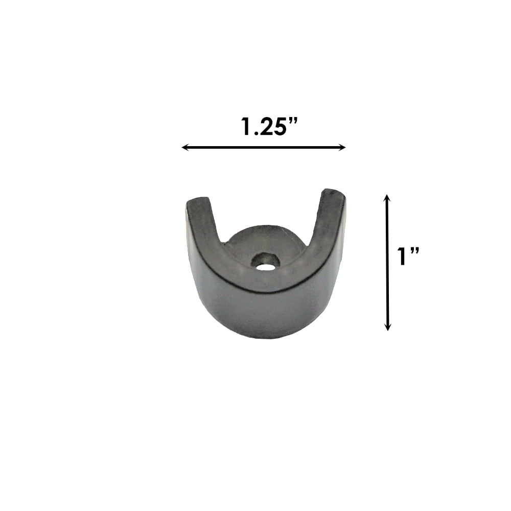 Sizing for French Rod Inside Mount Bracket