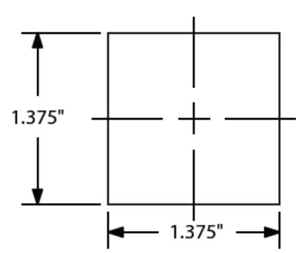 Sizing for Quad Pole - 8 Foot