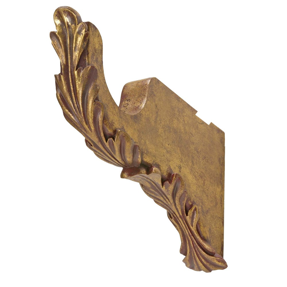Scroll Leaf Bracket 6' Return