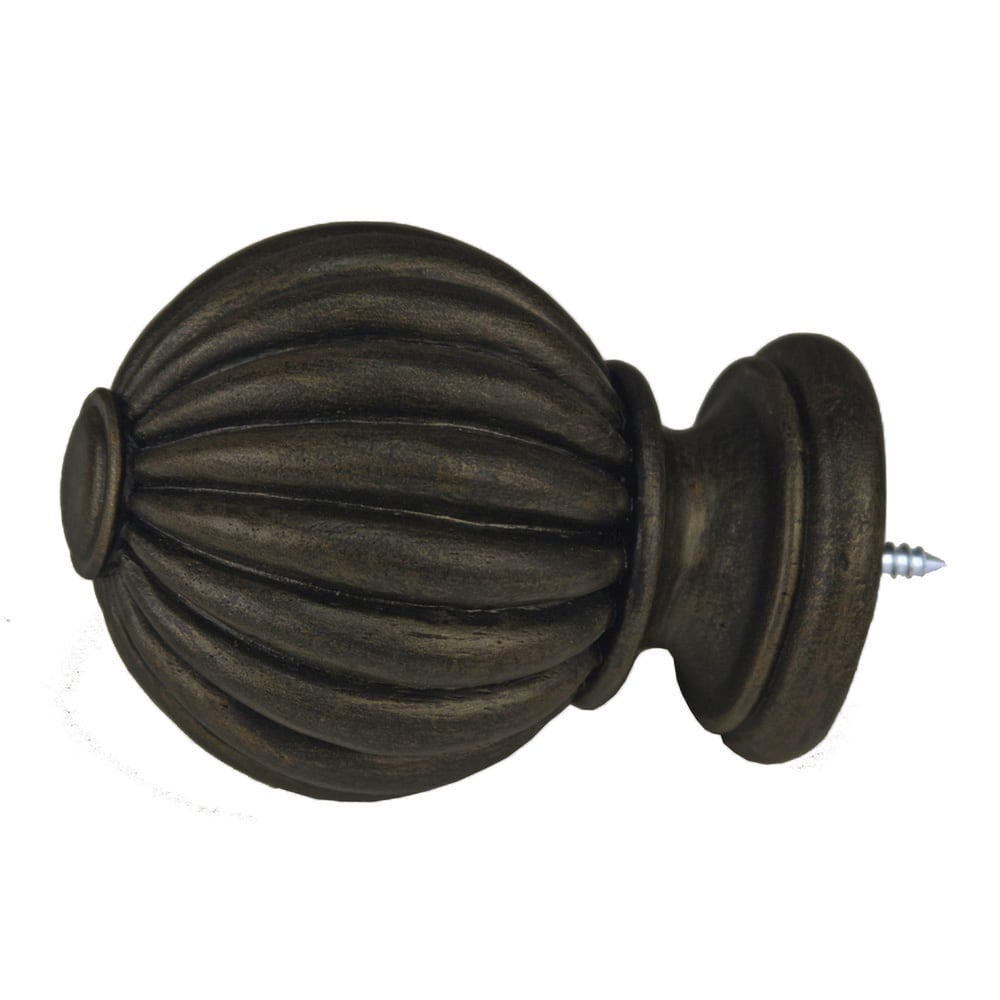 Fluted Ball Finial