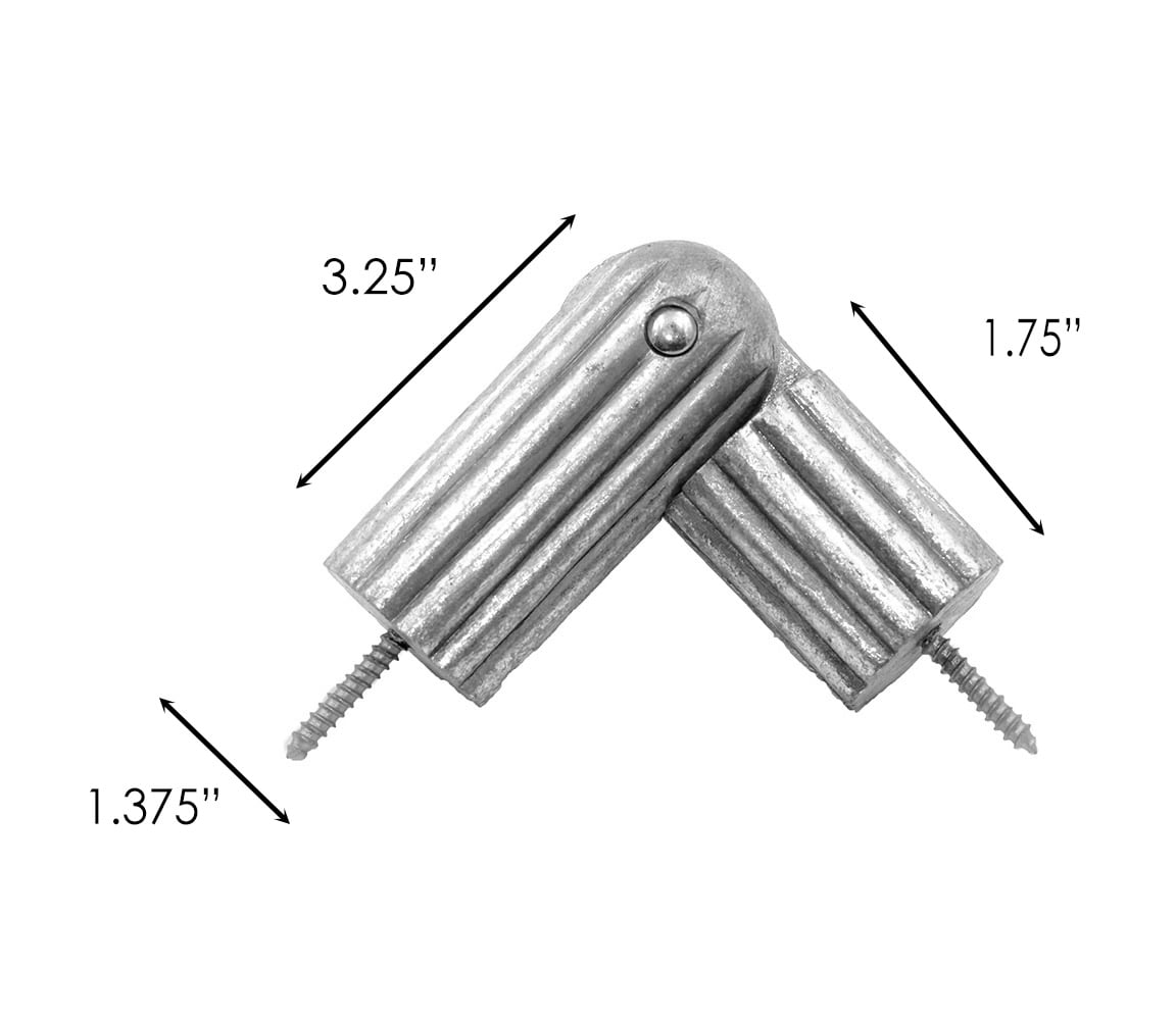 Sizing for Reeded Rod Elbow