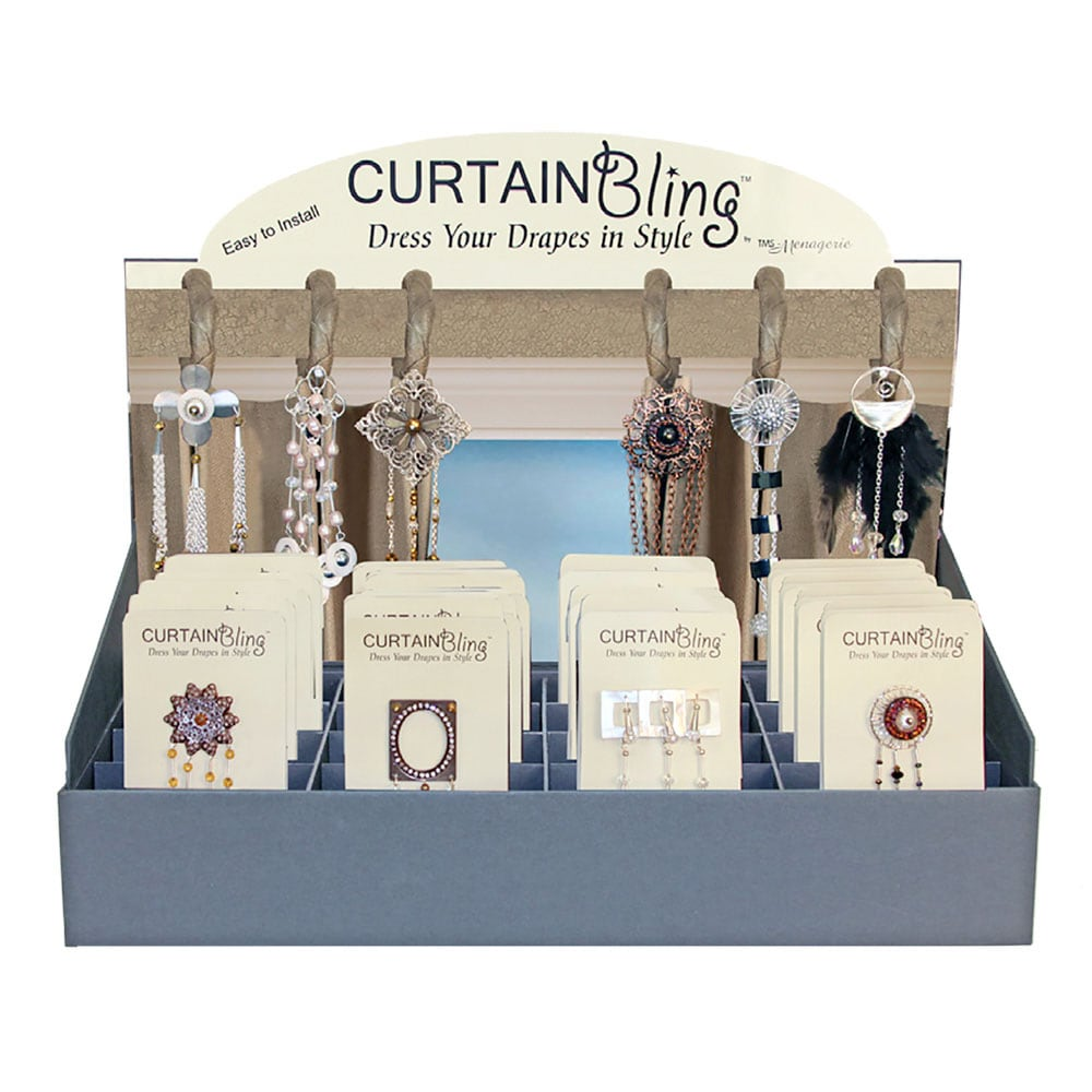 Curtain Bling Display Box Accessory