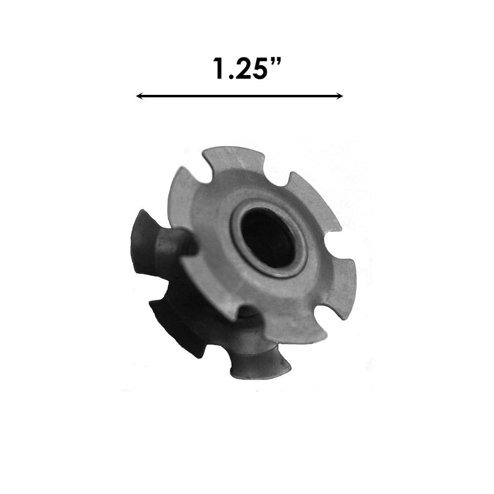 Sizing for Cut Rod Finial Adaptor