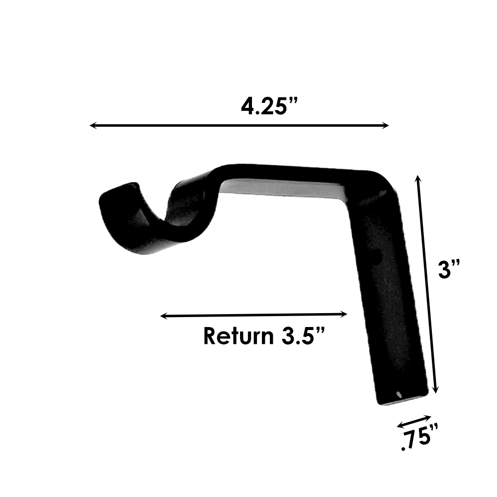 """Sizing for Standard Passing Support  Bracket - 7/8"""""""