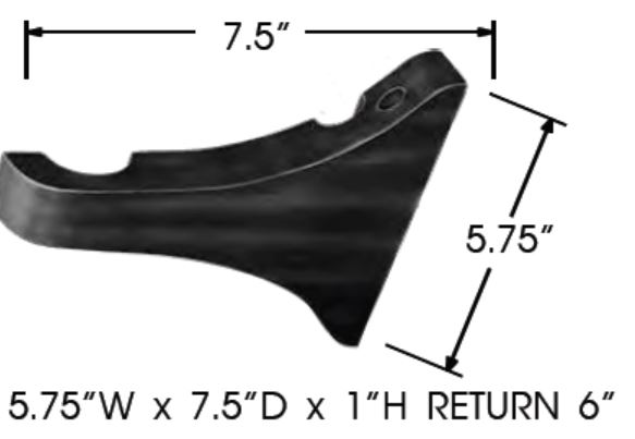 Sizing for Center Support - Extended