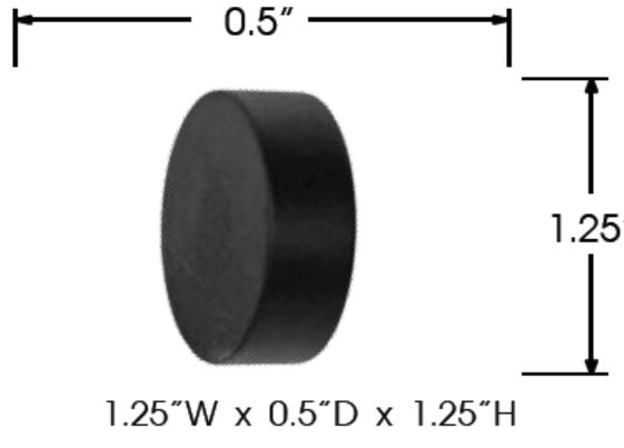 Sizing for Tech End Cap