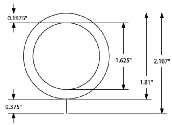 Sizing for Tech Drapery Rings