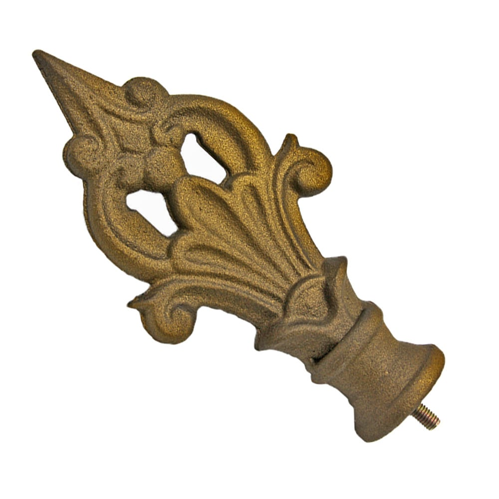Spear Design With Collar Finial