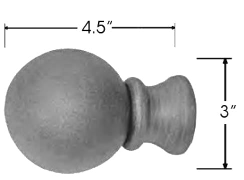 Sizing for Ball Design With Collar