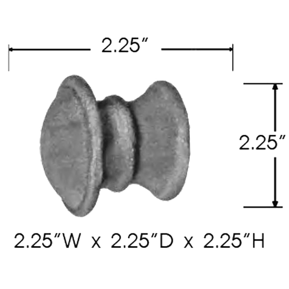 Sizing for End Cap With Collar