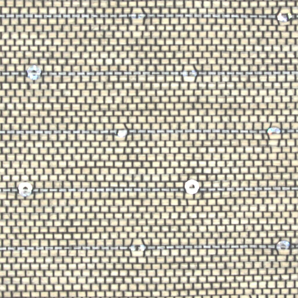 Natural Pearl Glitter Fabric Swatch
