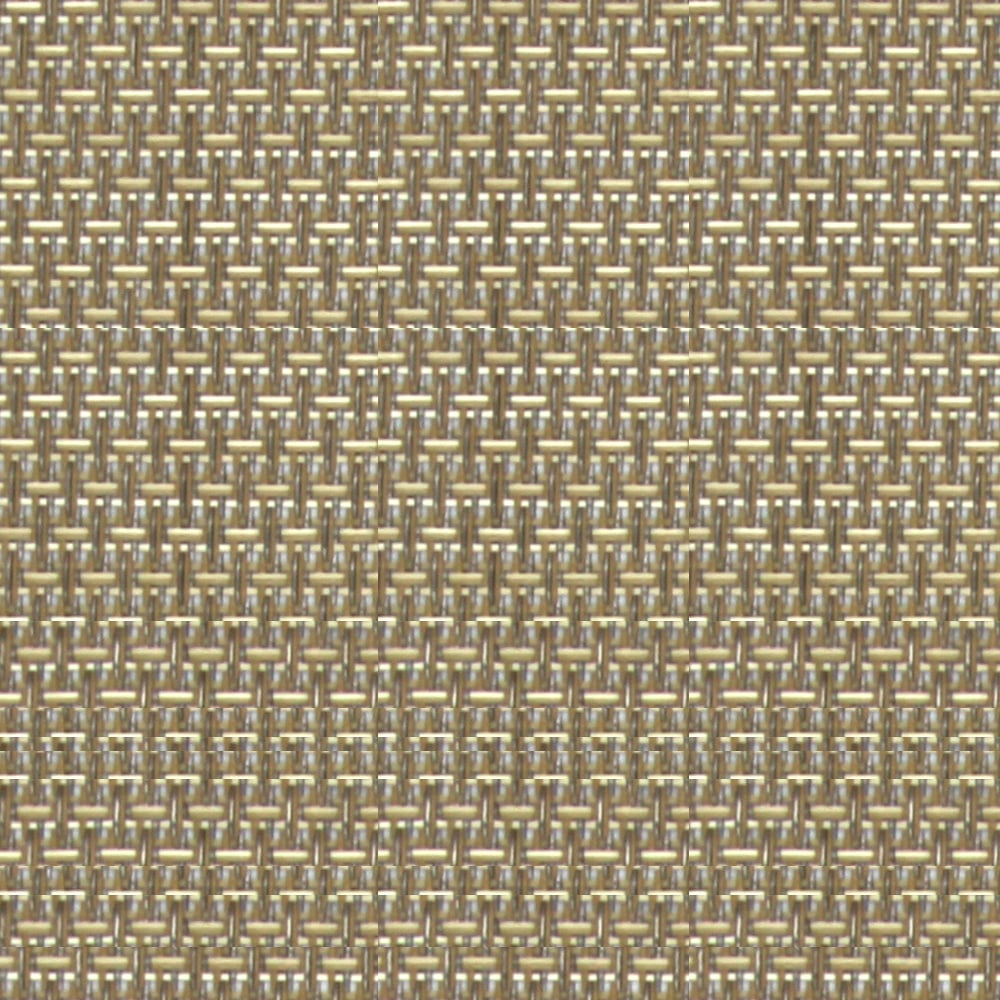 Honeycomb Brown Sugar Fabric Swatch 10% Openness