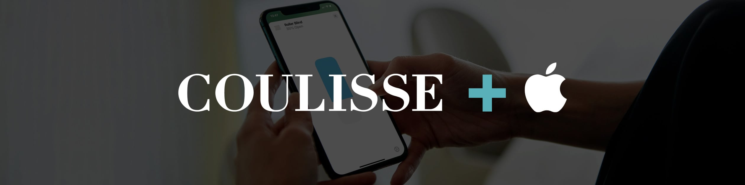 Coulisse Announces Apple HomeKit Support