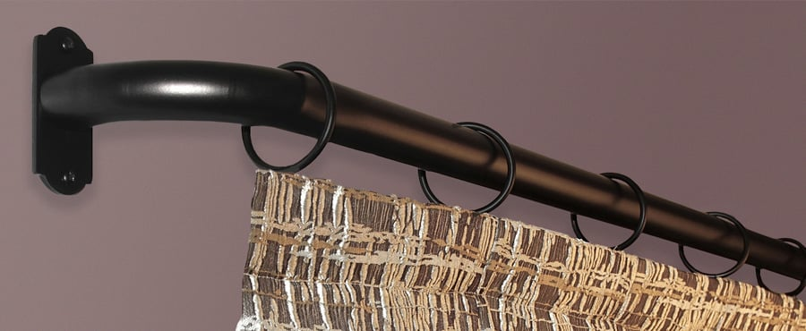Outdoor Powder Coated Drapery Hardware